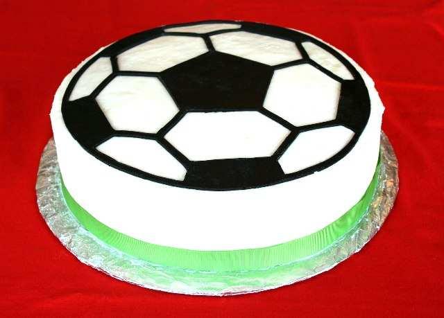 Фото тортов в виде футбольного мяча