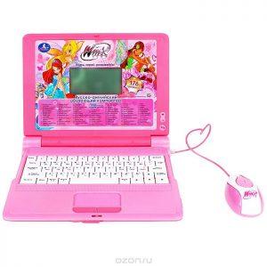 Обучающий компьютер Winx Умка цвет розовый