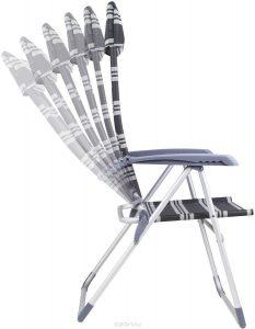 """Кресло складное GoGarden """"Sunset Deluxe"""", 4-позиционная регулировка"""