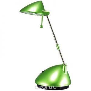 Настольный светильник Ультра ЛАЙТ зелёный перламутр